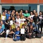 El Taekwondo My-Ju Cunit s'emporta 10 medalles al campionat de Catalunya Infantil i tres a l'Open de Plasencia