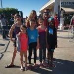 Cinc cunitenques participen al 7è Triatló Infantil a Sitges