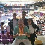 David Lorente i Jada Van Wijngaarden Campions d'Espanya de Taekwondo
