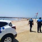 La Policia Local a peu de platja