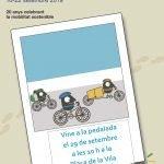 Read more about the article Arriba la Pedalada Popular el diumenge 29 de setembre