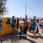Read more about the article Primera acció de recollida de plàstics a la platja