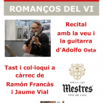Romanços del vi