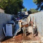 Read more about the article L'ajuntament neteja subsidiàriament el terreny d'una finca de Costa Cunit amb acumulació de residus