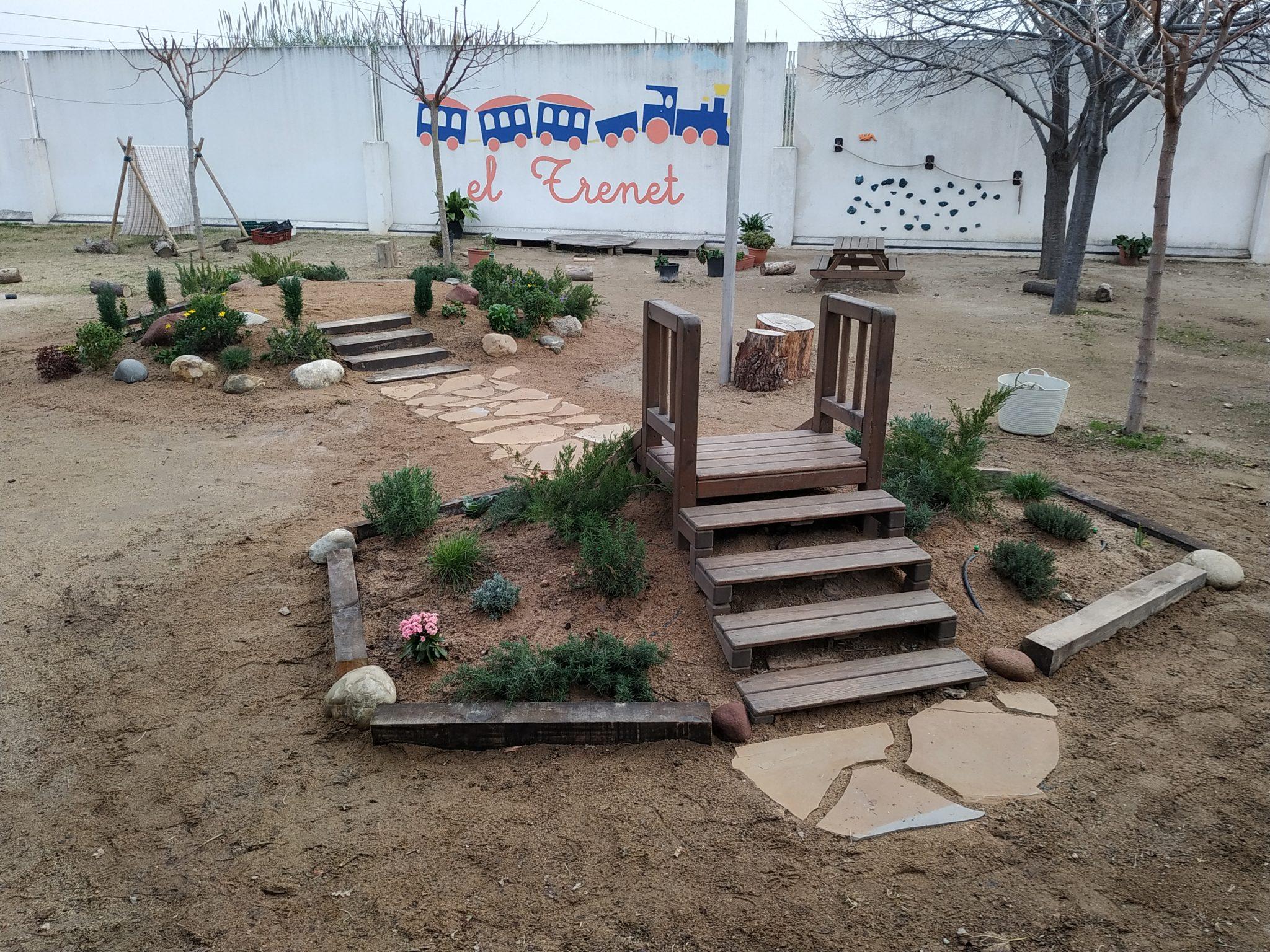 Read more about the article Nous canvis al jardí de la Llar d'Infants Municipal El Trenet
