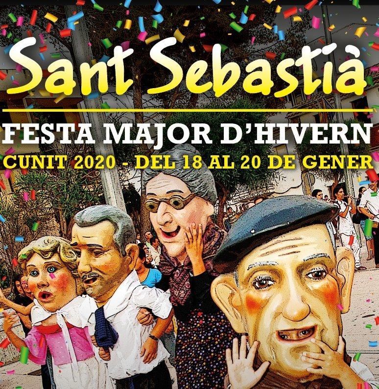 Read more about the article Cunit celebra la Festa Major d'Hivern en honor de Sant Sebastià
