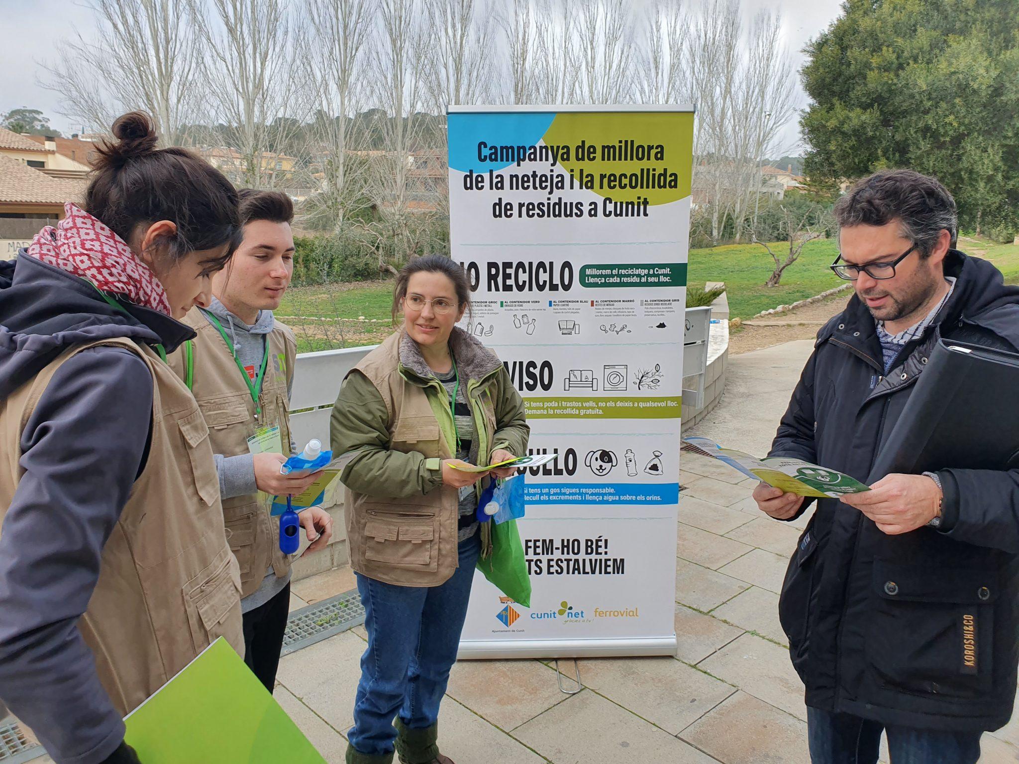 Read more about the article 'Jo reciclo, jo aviso, jo recullo', comença la campanya de civisme a Cunit