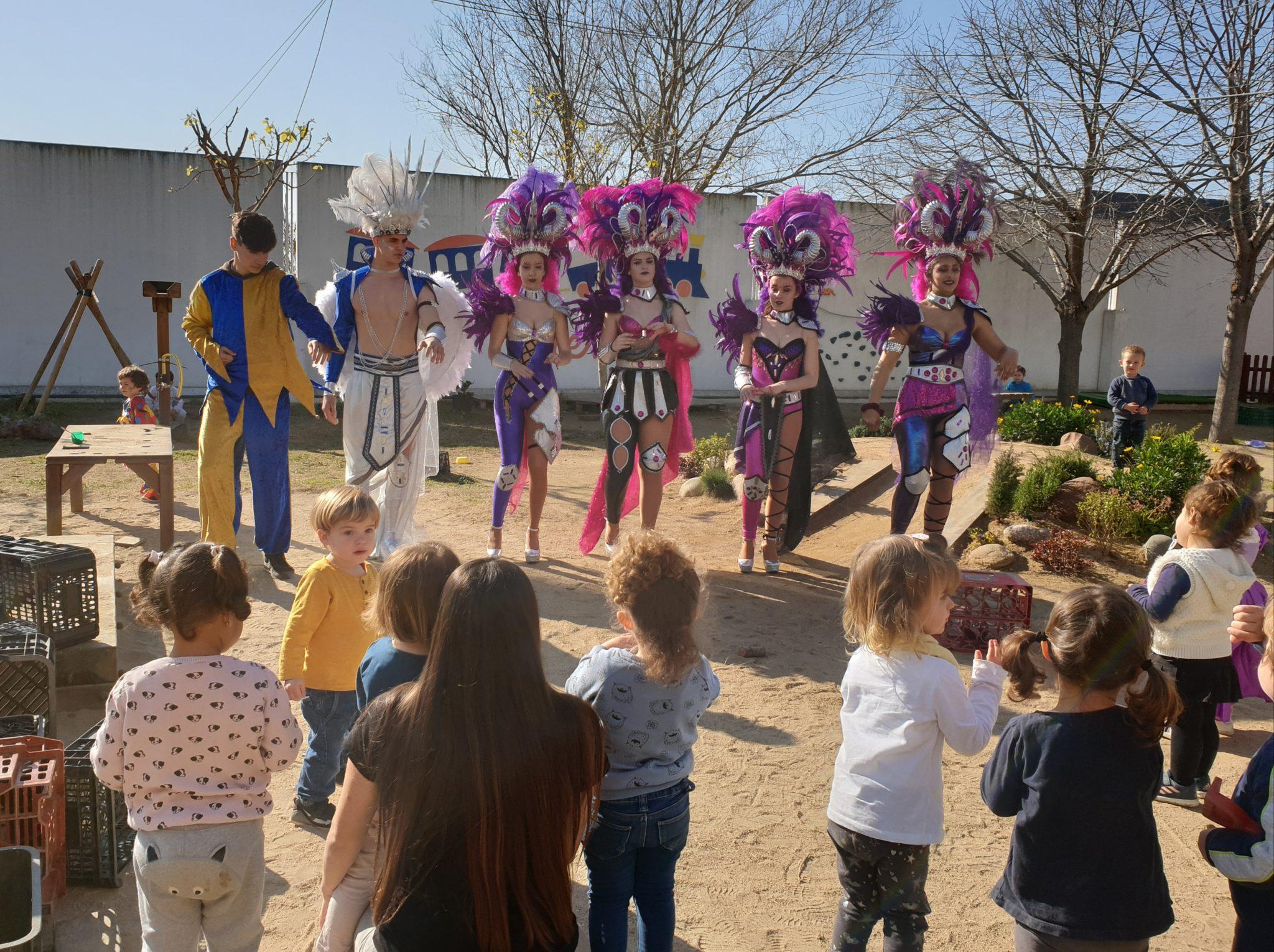 Read more about the article Carnaval a les escoles de Cunit i a la Llar d'Infants El Trenet
