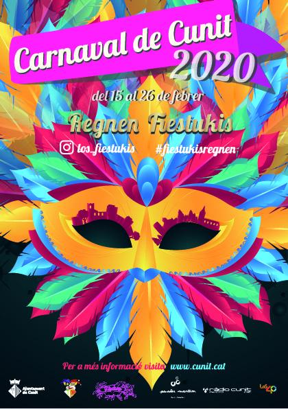 Read more about the article El Carnaval de Cunit presenta la programació 2020