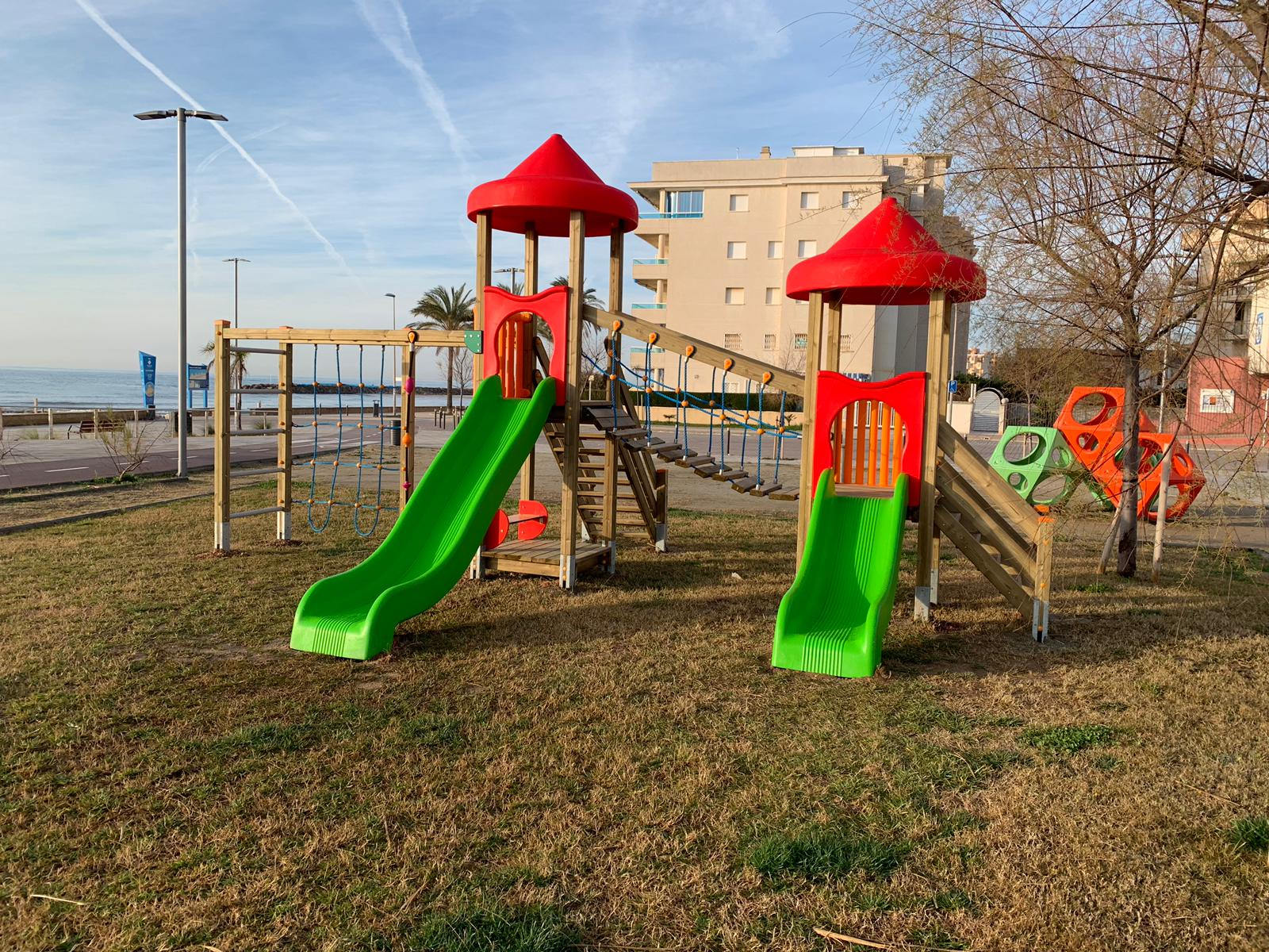 En marxa un Pla de renovació de parcs infantils
