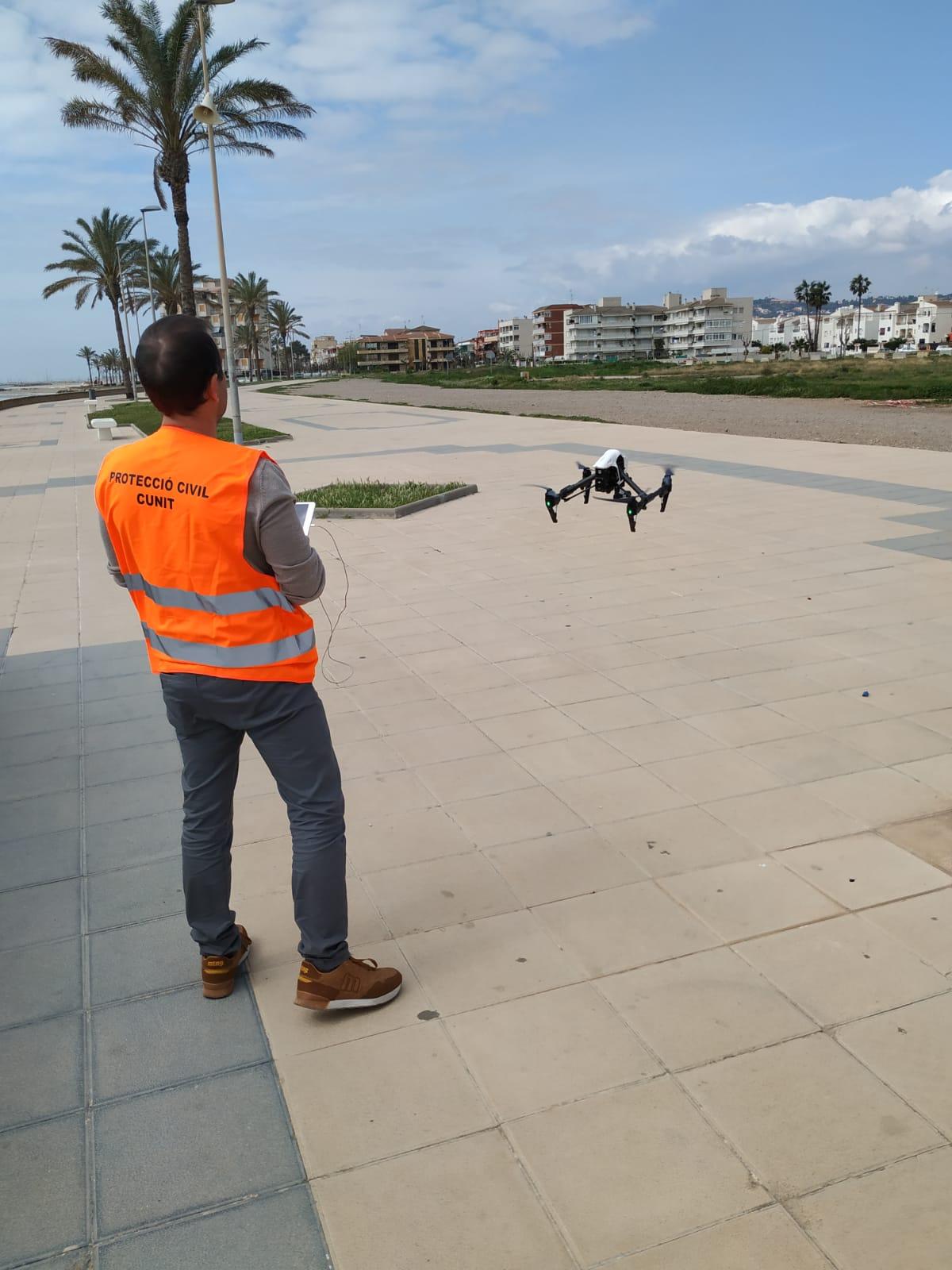 La Policia Local activa el Dron