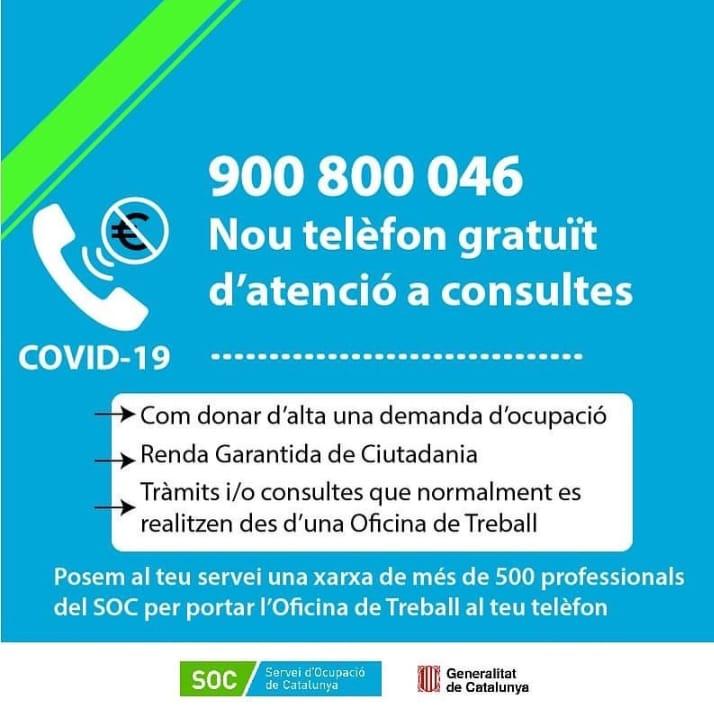 Read more about the article Borses de treball SOC emergència COVID 19