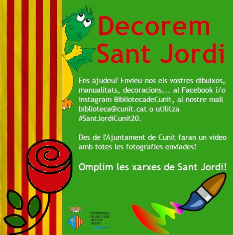 Decorem Sant Jordi