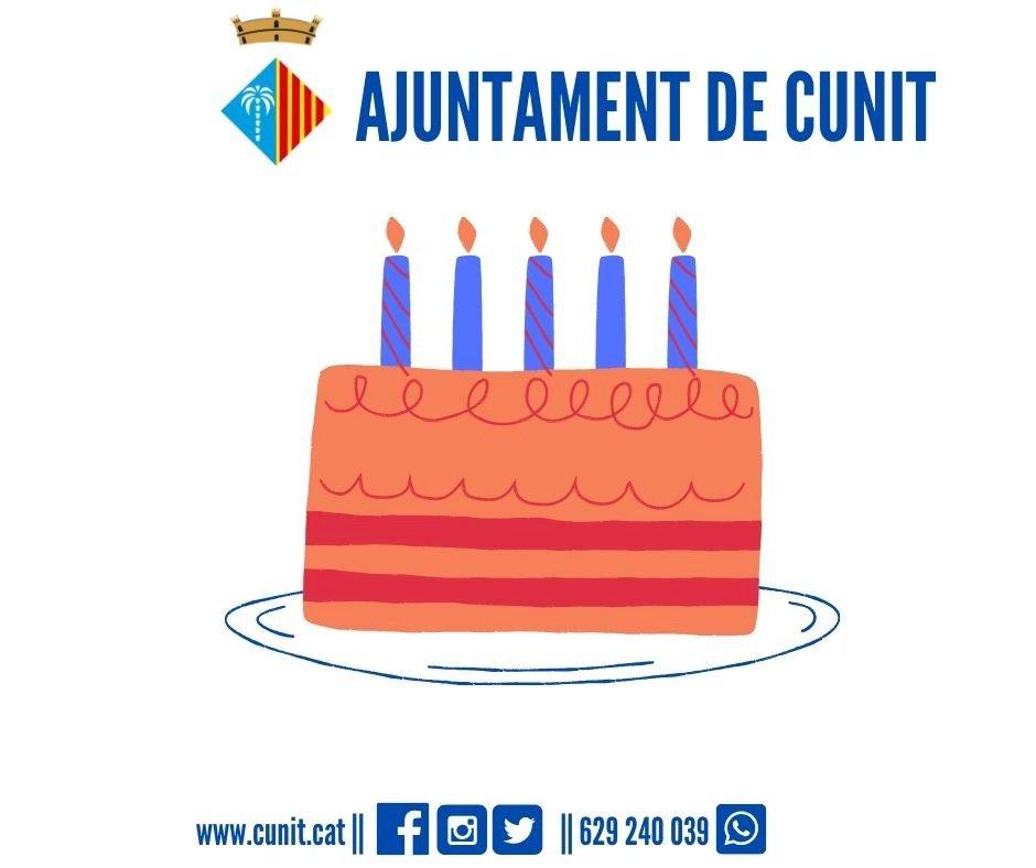 L'Ajuntament felicita els aniversaris per whatsapp