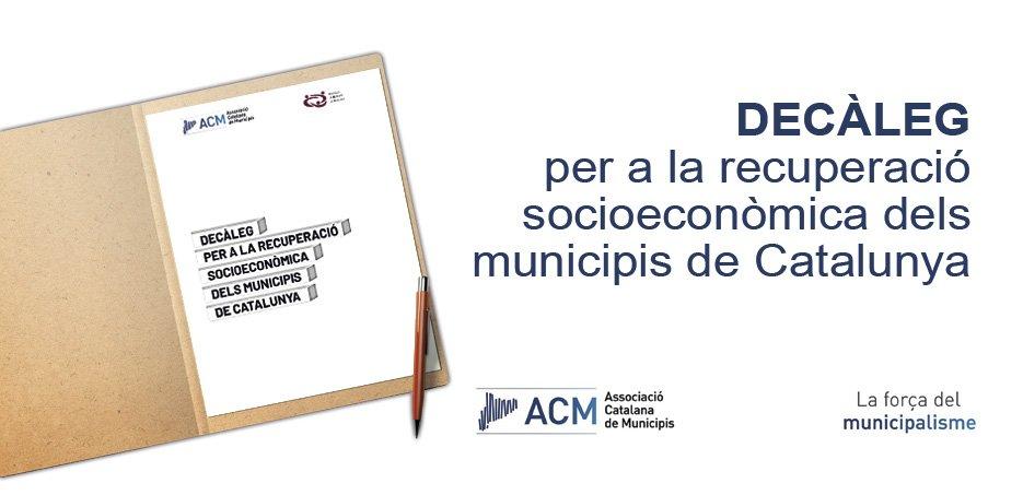 L'ajuntament de Cunit s'adhereix al Decàleg per a la recuperació socioeconòmica (ACM)