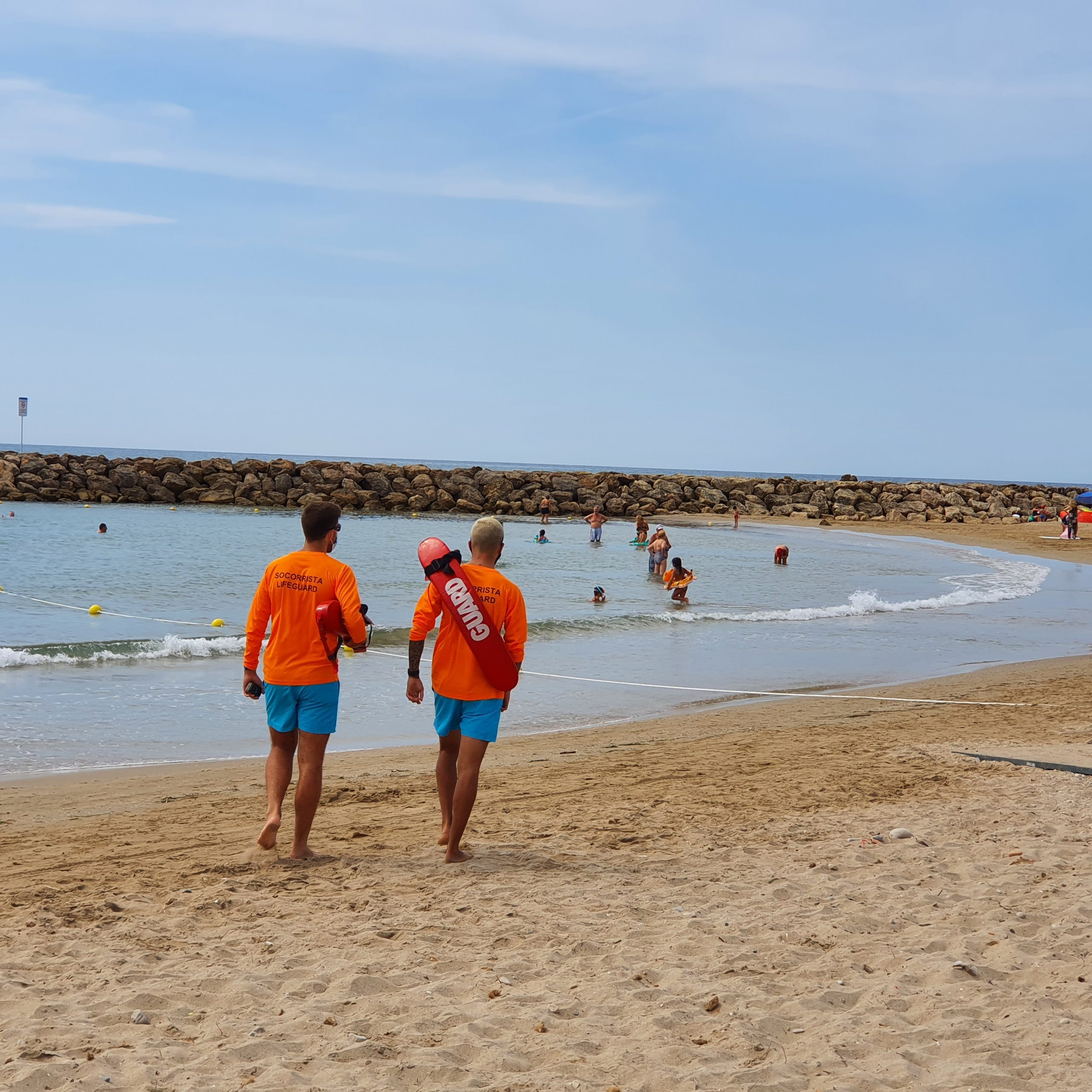 Actiu el servei de socorrisme i vigilància de platges