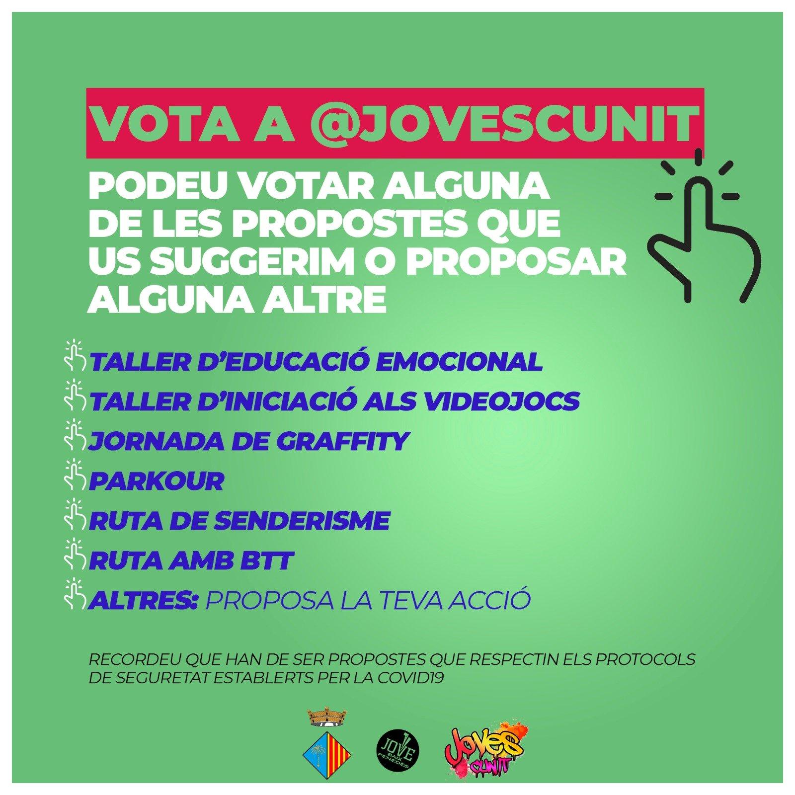 Procés participatiu jove: FES LA TEVA ACCIÓ!