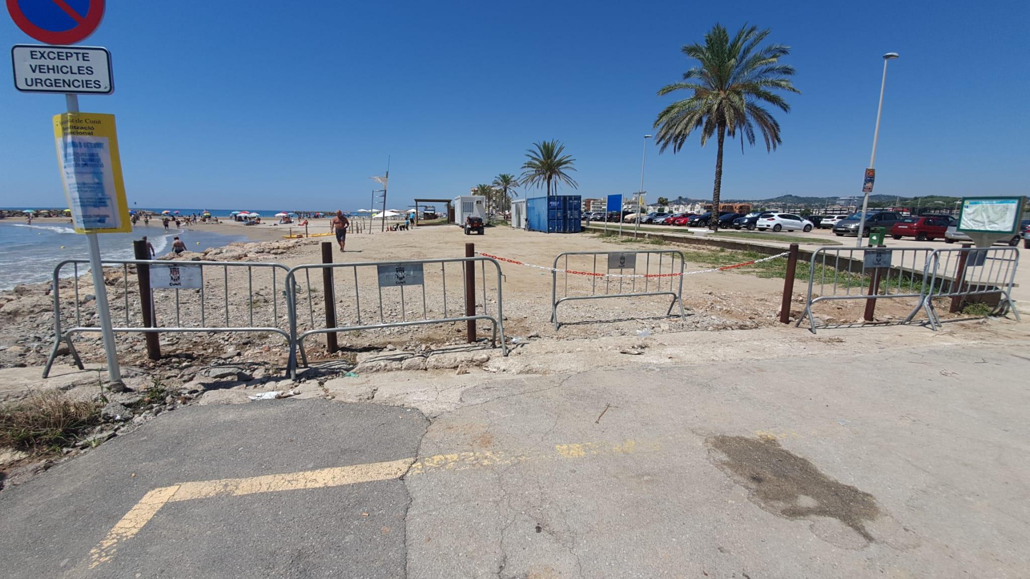 L'ajuntament regula l'accés de vehicles nàutics a les platges