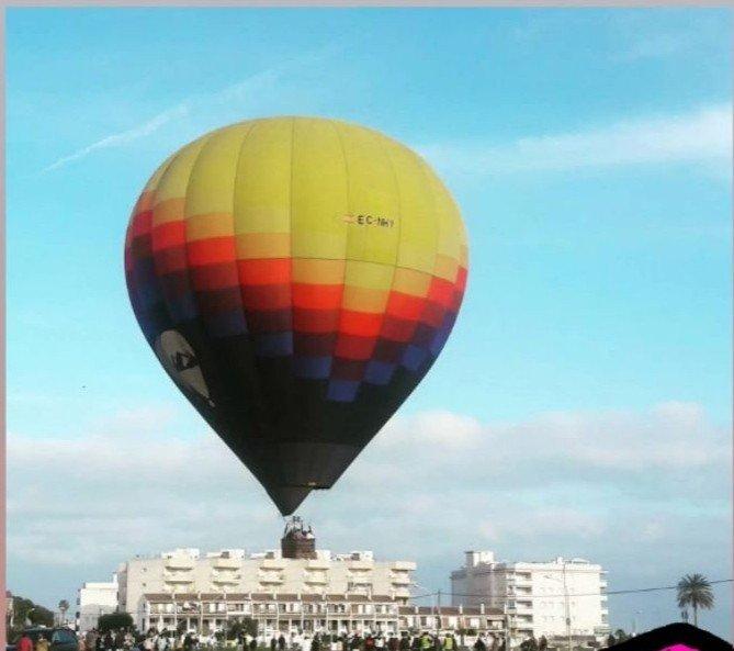 Read more about the article Un globus aerostàtic, la nova atracció a Cunit