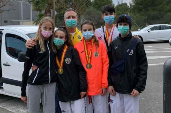 Gran resultat del Club Taekwondo My-Ju Cunit en la Copa d' España Cadet i Junior.