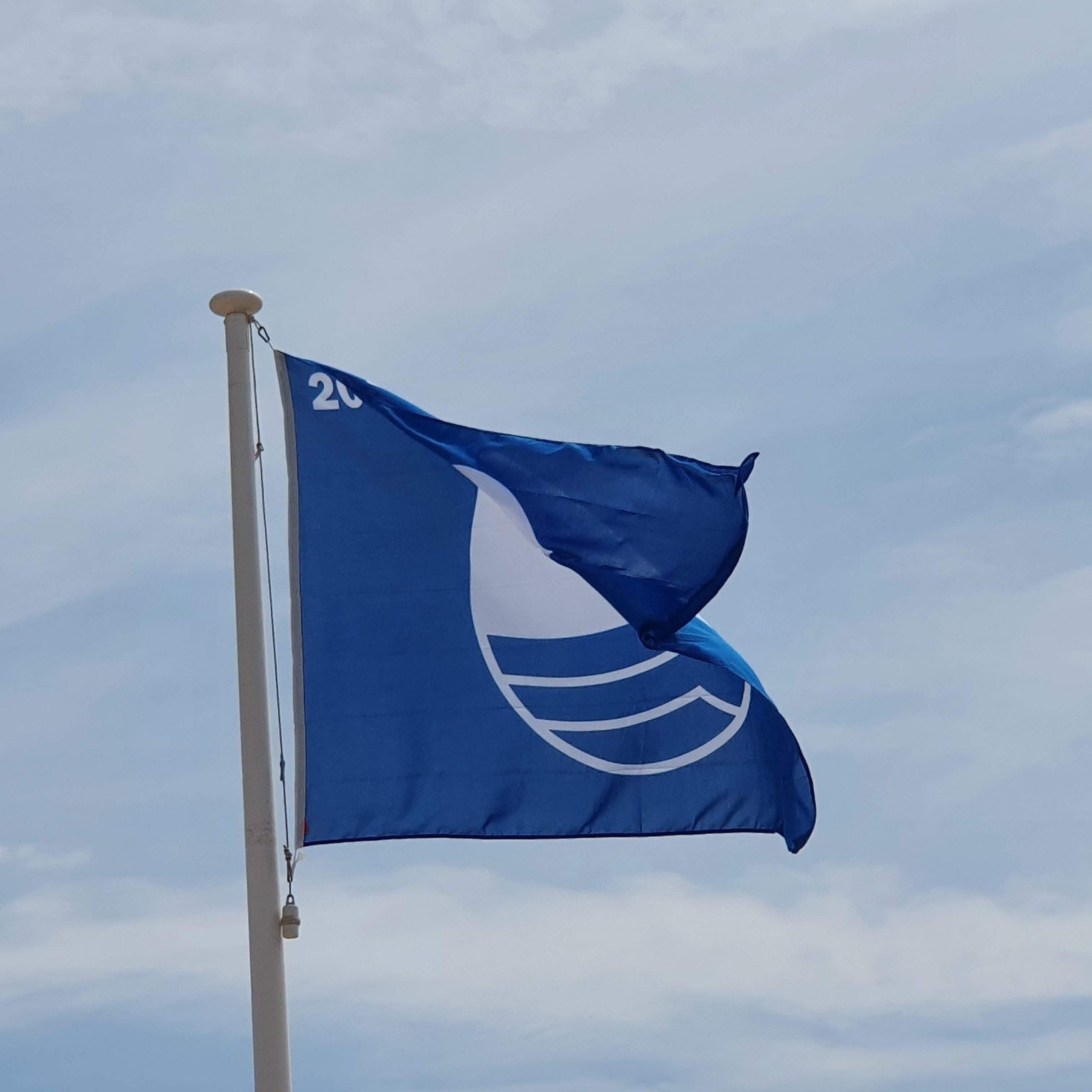 Les platges de Cunit renoven la Bandera Blava per aquest 2021