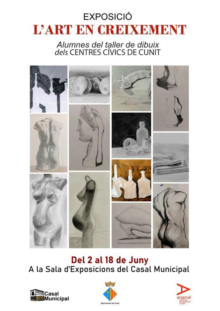 """Read more about the article Exposició de dibuix """"L'Art en Creixement"""""""