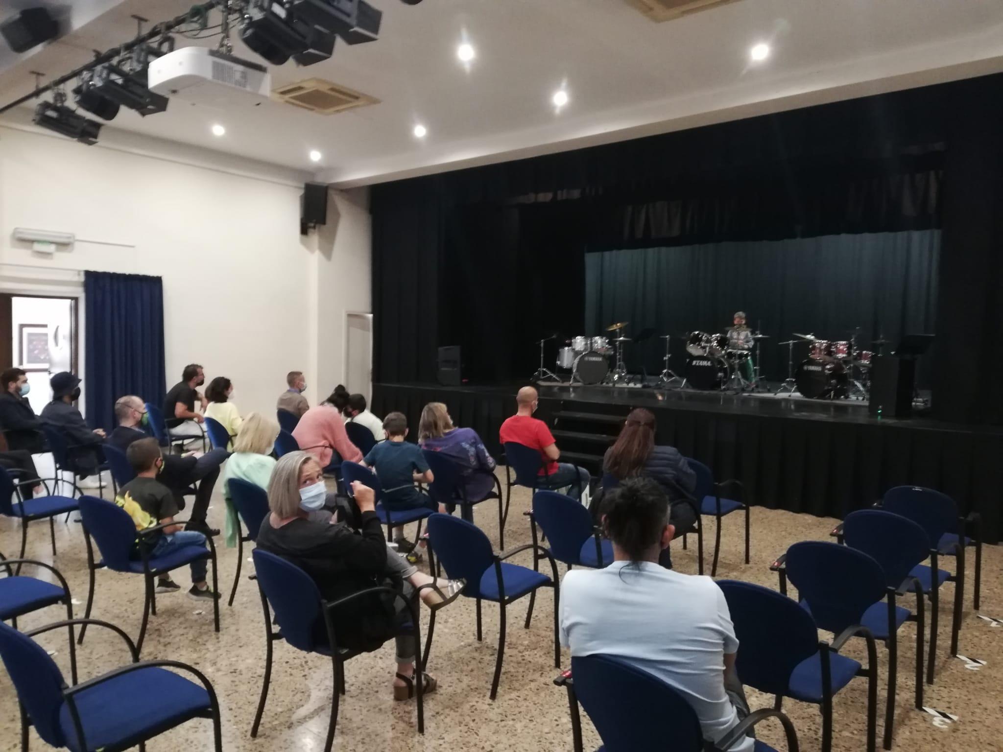 Audició de bateries al Casal Municipal de Cunit