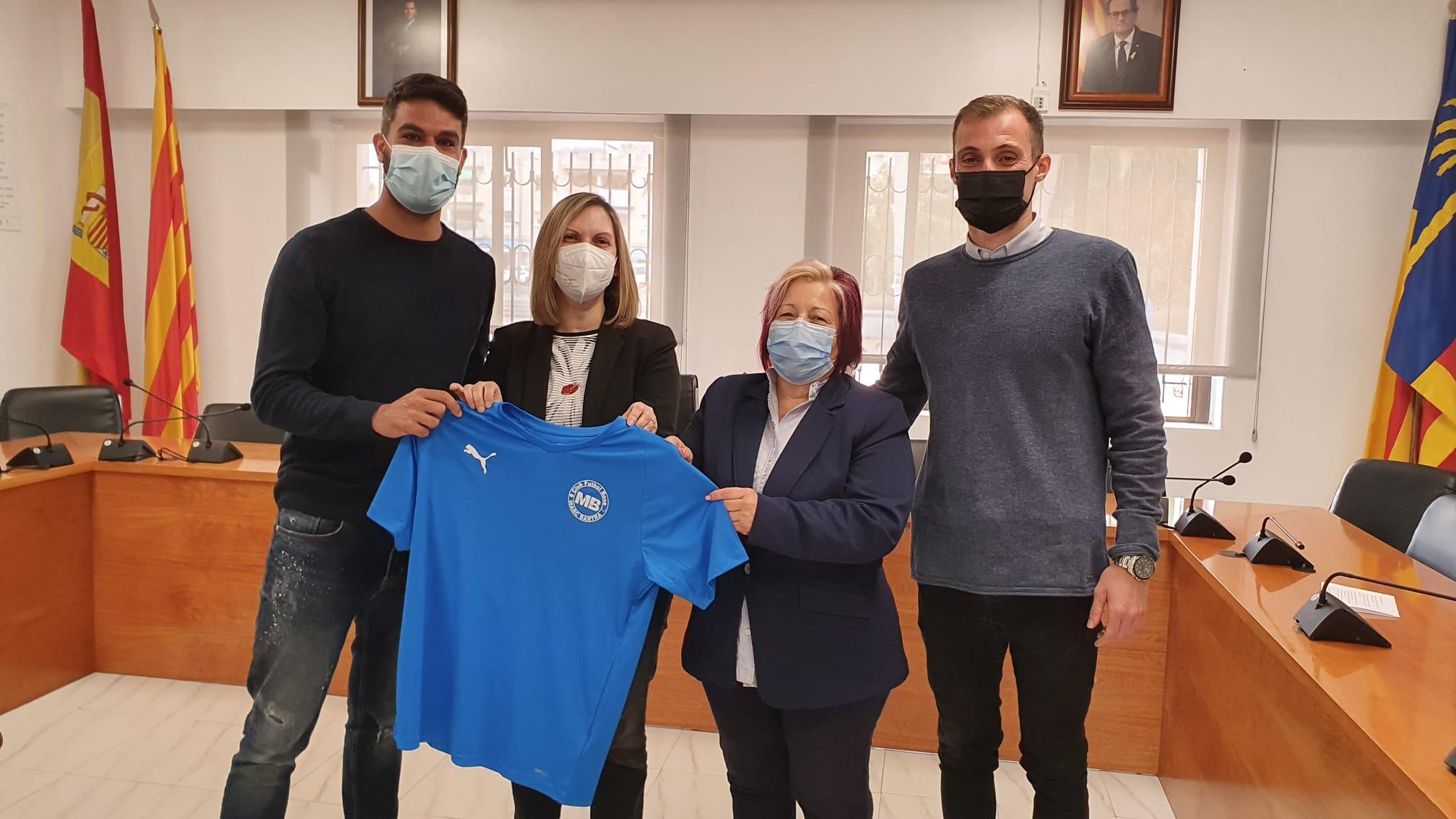 El Club de Futbol Base Marc Bartra arriba a Cunit
