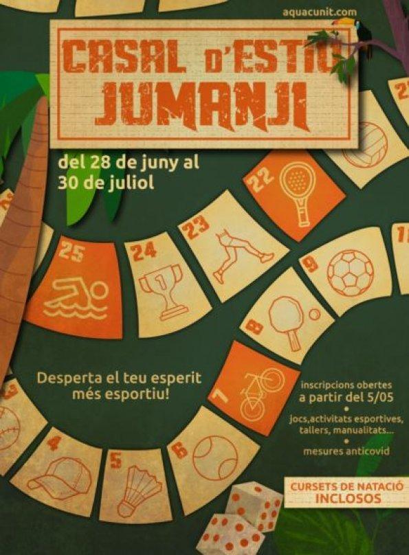 Read more about the article Casal d'estiu temàtic 'JUMANJI' al CEM Els Joncs