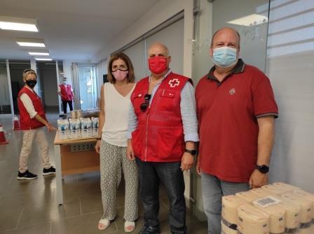 Nou acord amb Creu Roja per la gestió del Rebost d'aliments