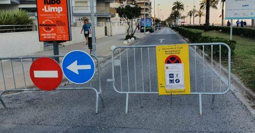 Read more about the article Es tanca a la circulació el Passeig Marítim