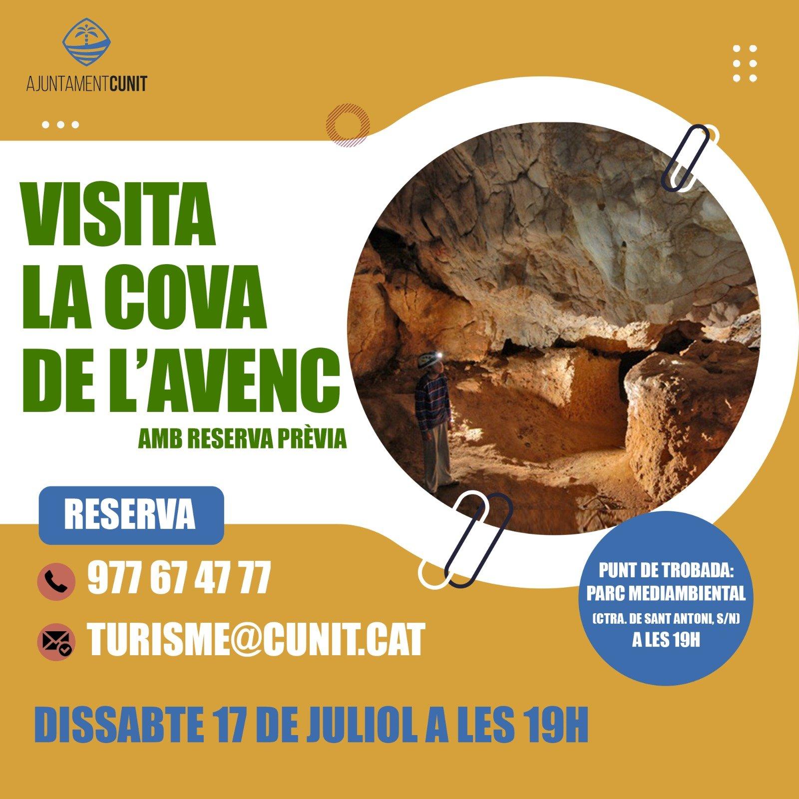 Read more about the article Nova data per a visitar l'Avenc de Sant Antoni
