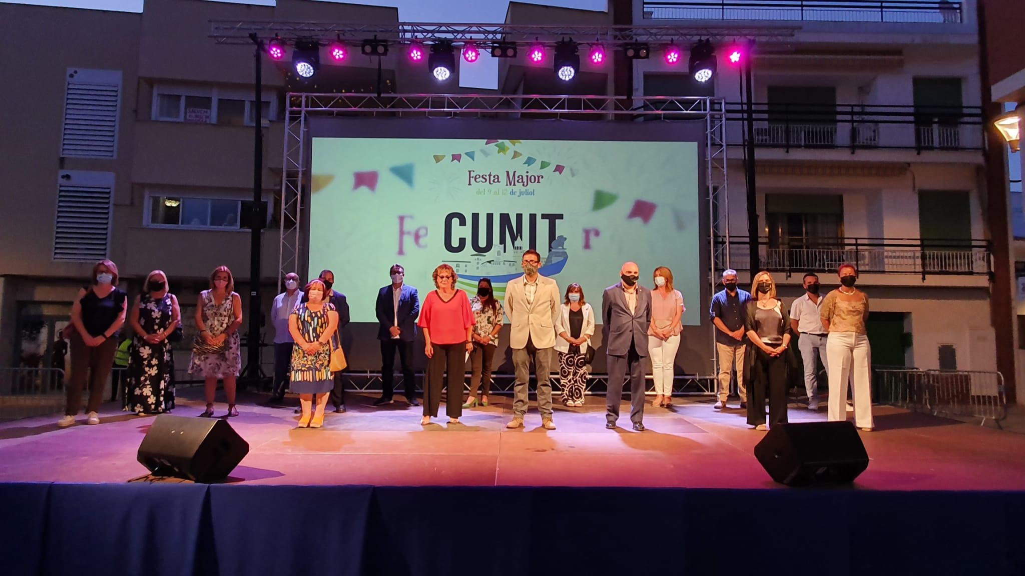 Read more about the article Cunit finalitza la primera Festa Major en pandèmia