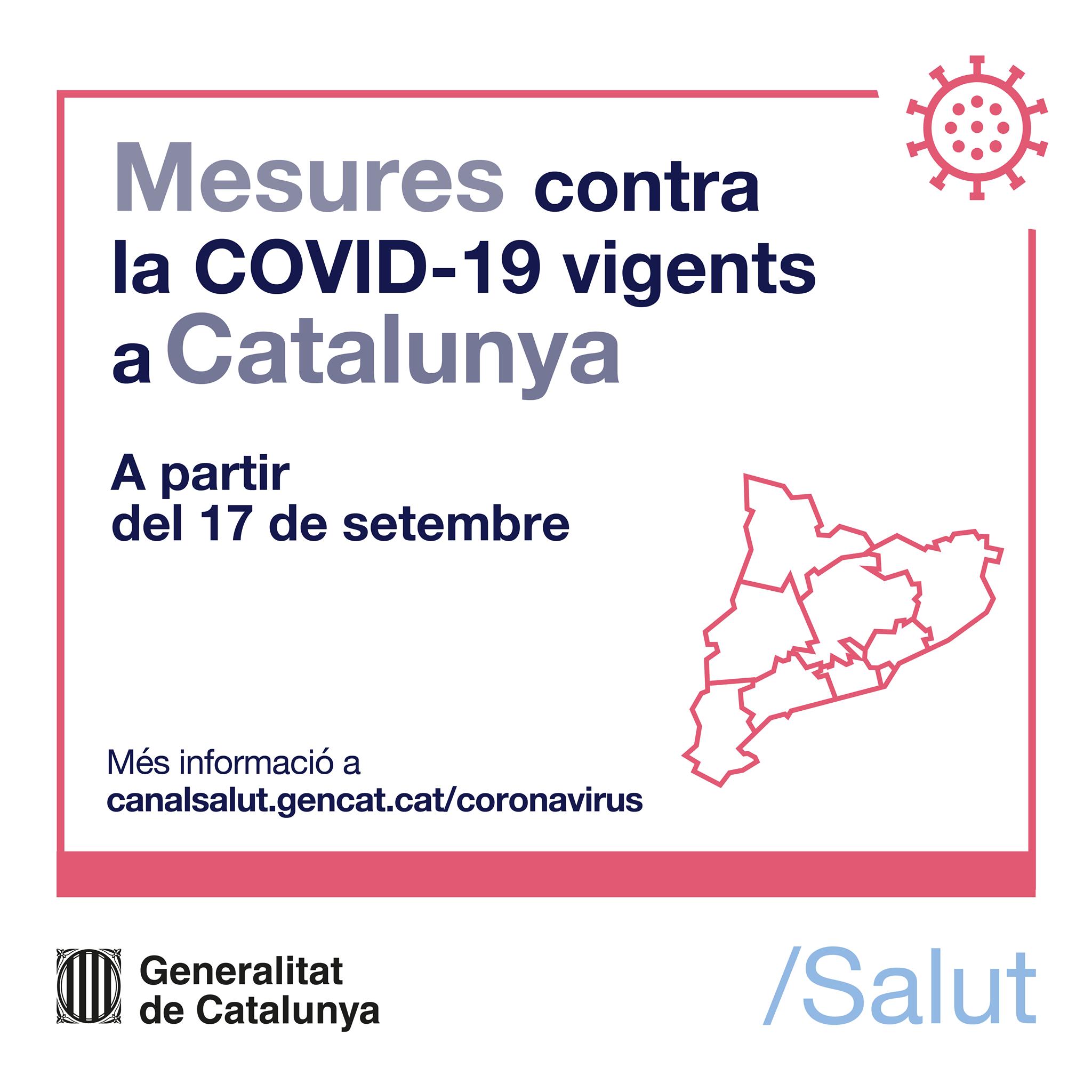 Read more about the article Pròrroga de les mesures per prevenir contagis a partir del 17 de setembre