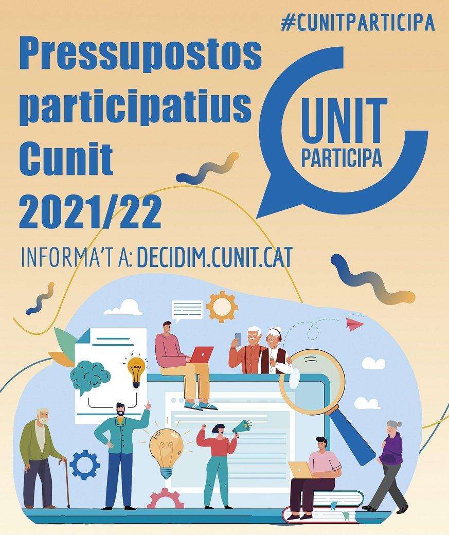 Read more about the article Cunit obre la votació dels pressupostos participatius