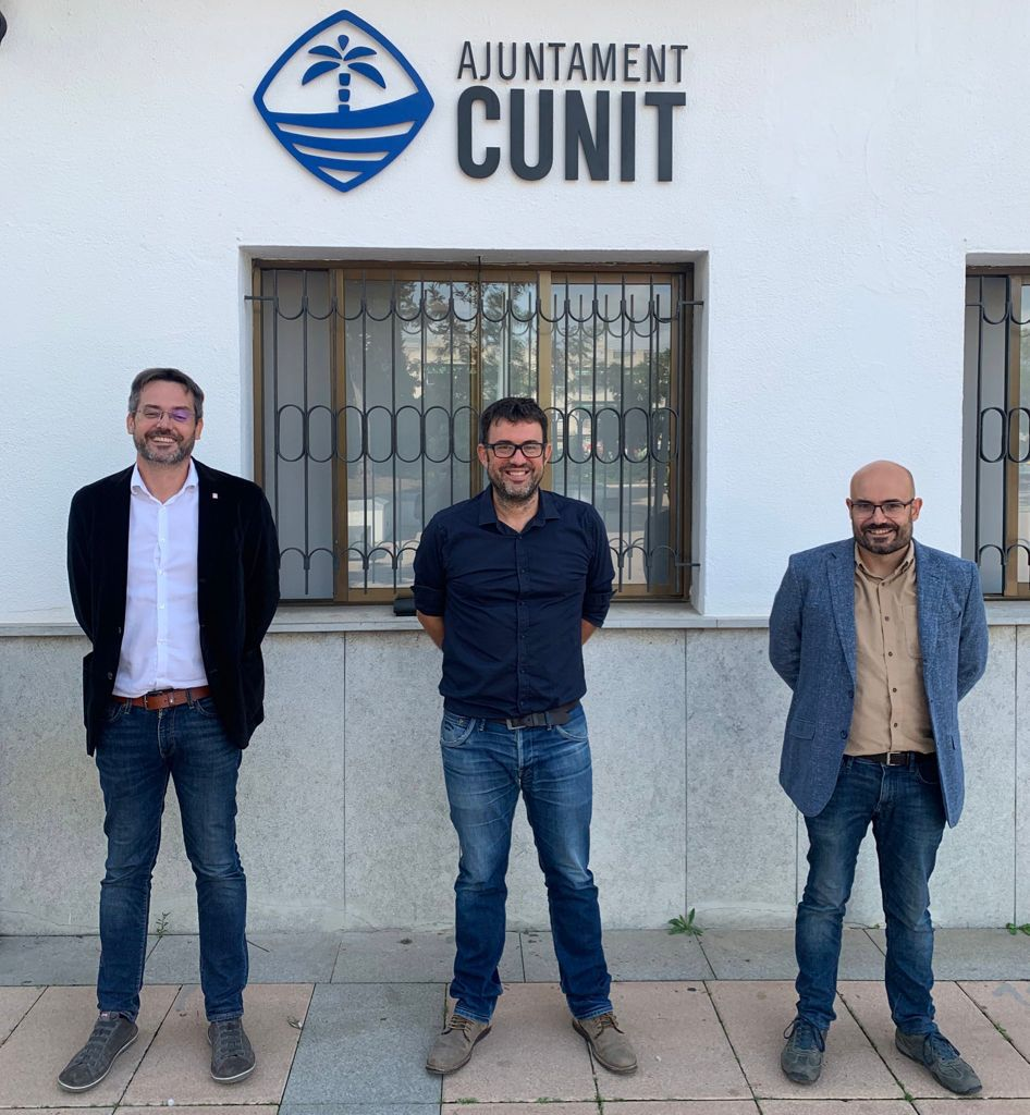 Read more about the article L'alcalde Jaume Casañas trasllada les necessitats cunitenques al delegat del Penedès