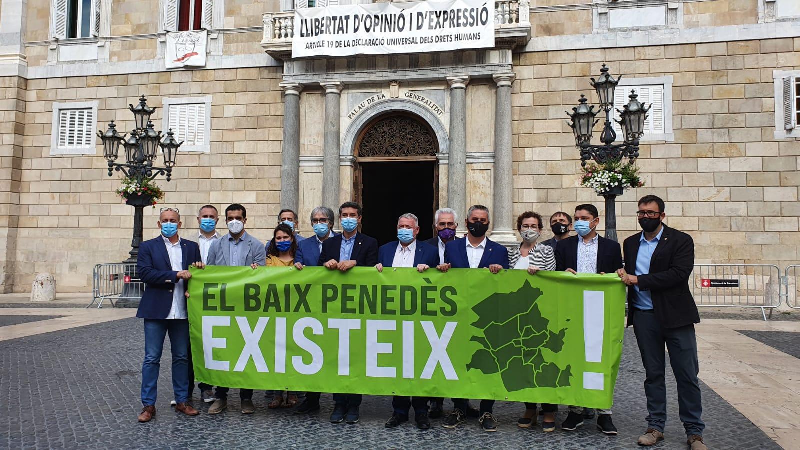 Read more about the article Cunit es fa escoltar al Palau de la Generalitat de Catalunya